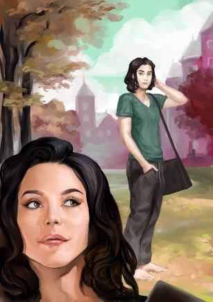 Alison and Quinn by Aivelin